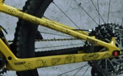 DYEDbro Frame Protector at Draco Bikes - Cats 5