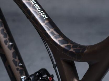 DYEDbro Frame Protectors at Draco Bikes - Animal Print 2