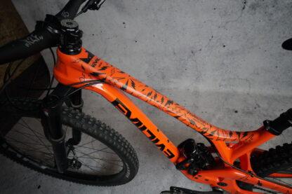 DYEDbro Frame Protectors at Draco Bikes - Sergio Layos 2