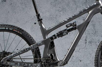 DYEDbro Protectors at Draco Bikes Andes Pacifico 2020 White 1